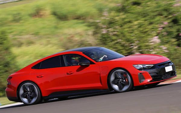 Audi RS e-Tron GT chega ao Brasil com preço de R$ 949.990