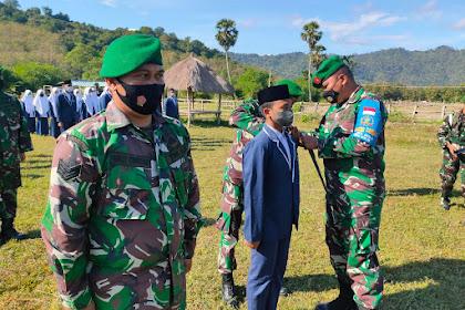 Dandim 1628/SB : Buka Secara Resmi Latihan Dasar Kepemimpinan Siswa MTSN I Sumbawa Barat