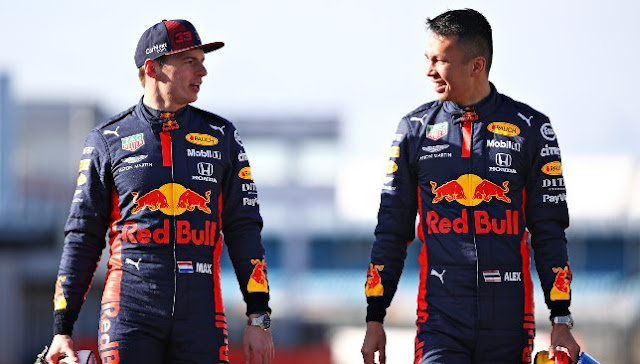 Red Bull current drivers