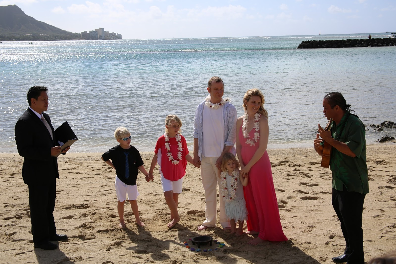 Beach Vow Renewal Ceremony: Cristina Spencer: Vow Renewal :: The Ceremony