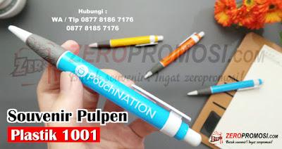 Souvenir Pen Plastik, pen Unik Kode 1001, pulpen promosi, souvenir pen 1001