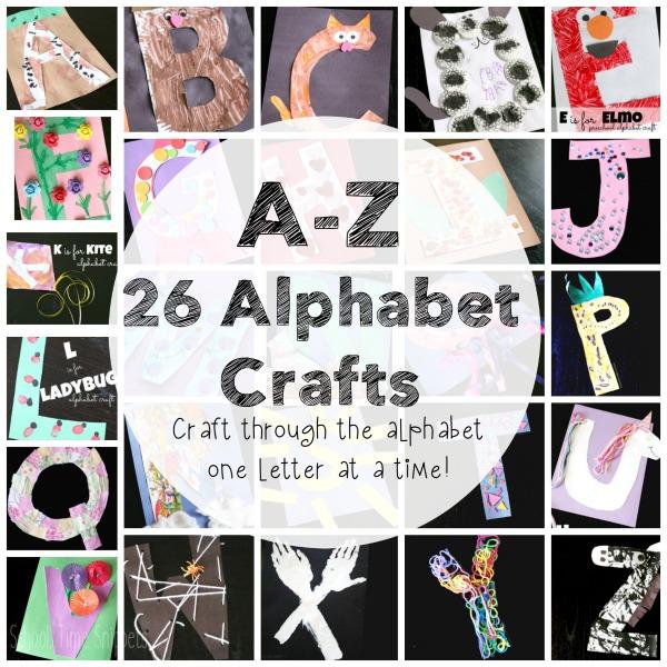 alphabet crafts for preschoolers