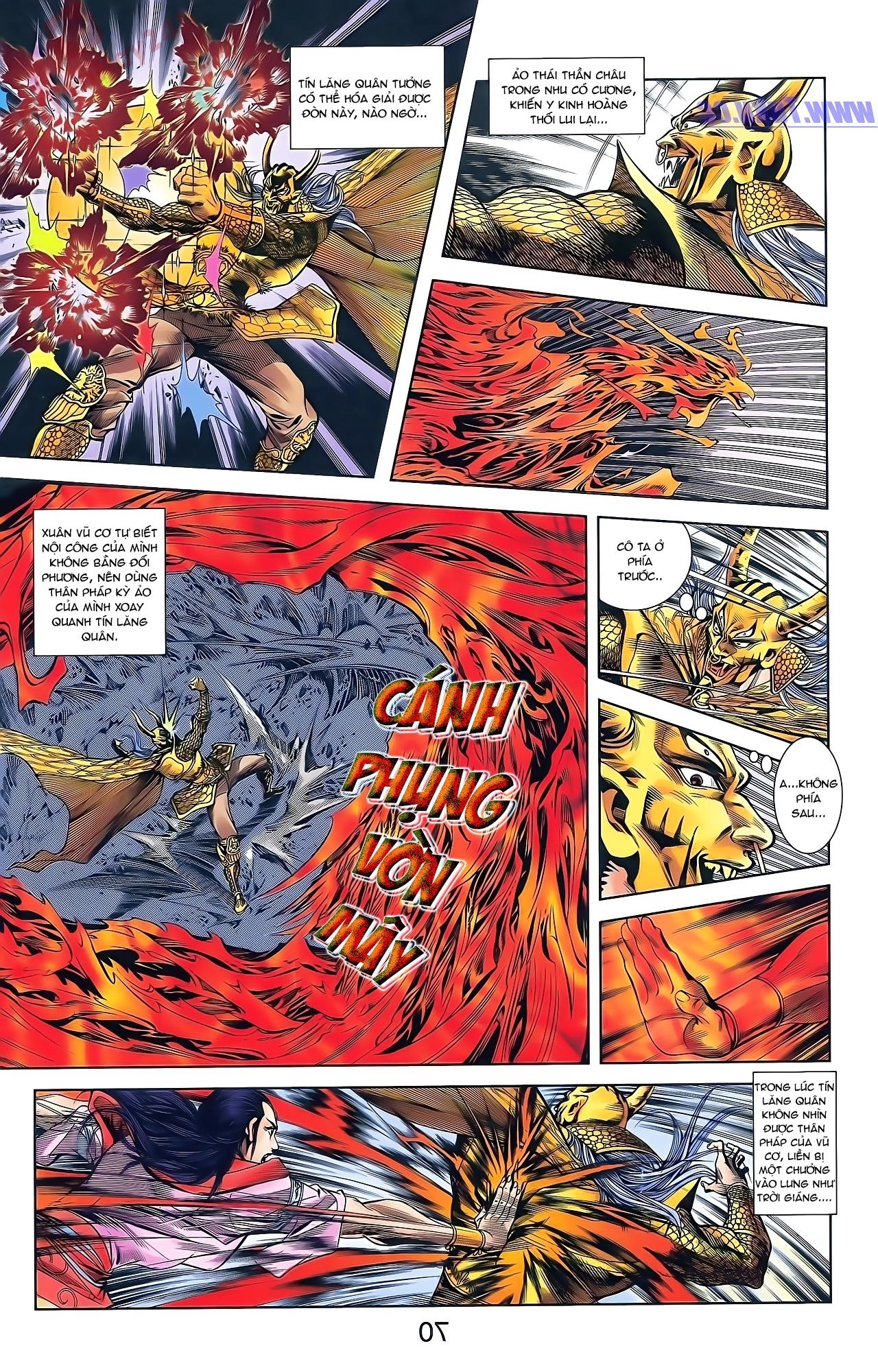 Tần Vương Doanh Chính chapter 49 trang 24