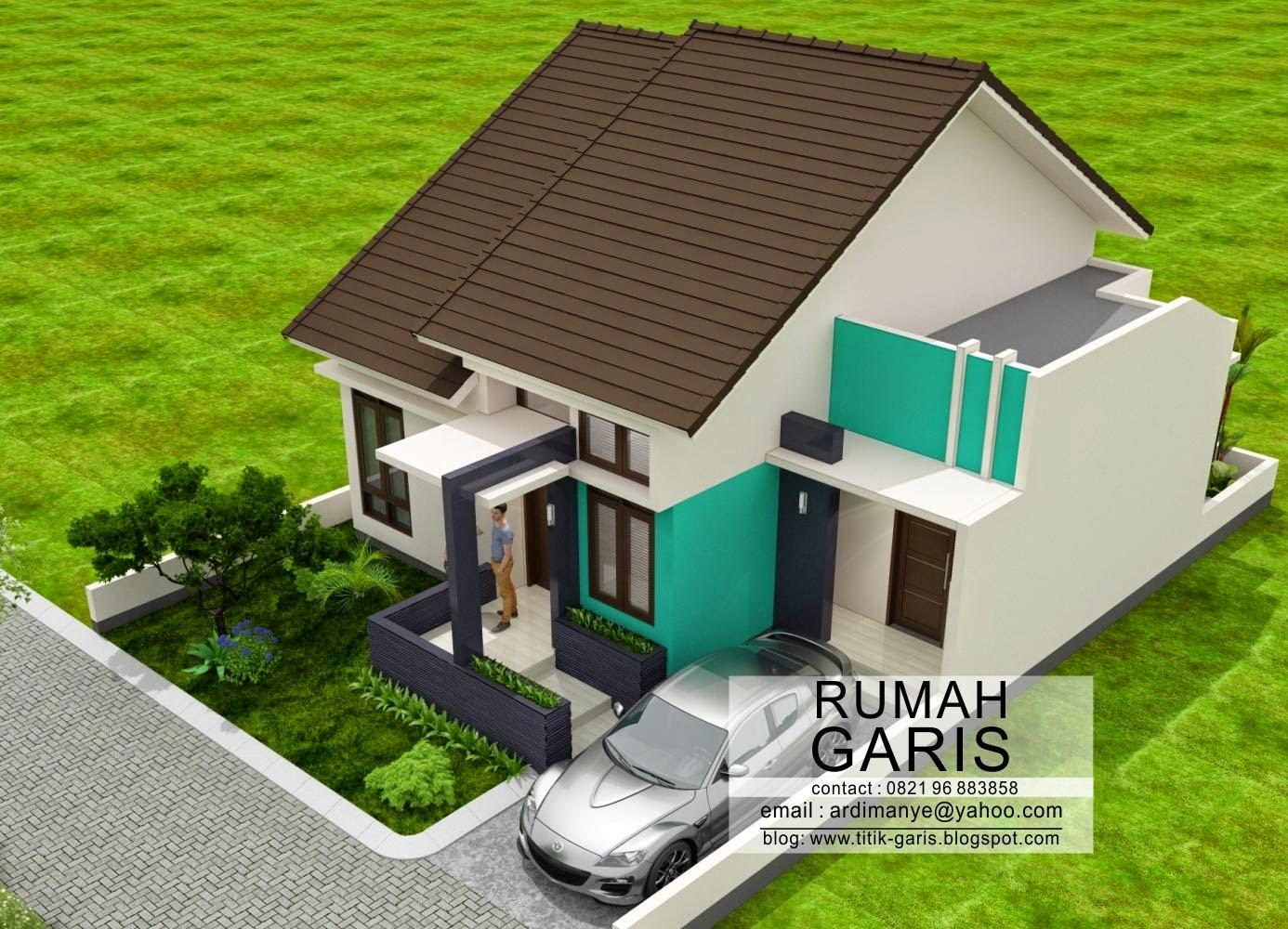 Desain Rumah Tipe 90 Di Lahan 10x15 Meter Rumah Garis