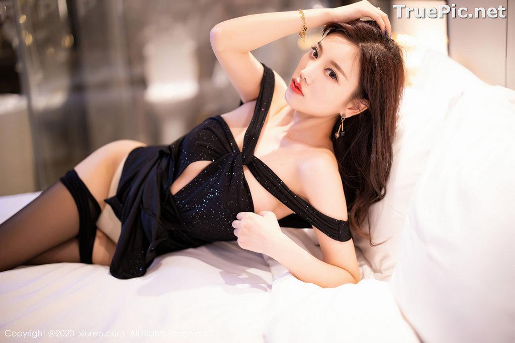 Image XIUREN No.2616 - Chinese Model - Yang Chen Chen (杨晨晨sugar) - Sexy Dark Lady - TruePic.net - Picture-8