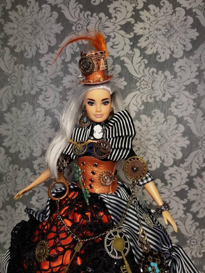 Steampunk Barbie Doll