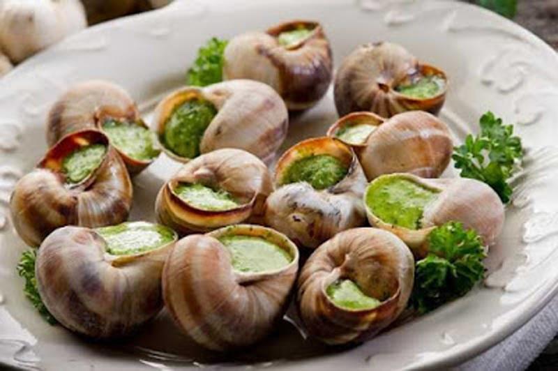 Ốc sên:Món ăn ăn tiềm ẩn nhiều nguy hại