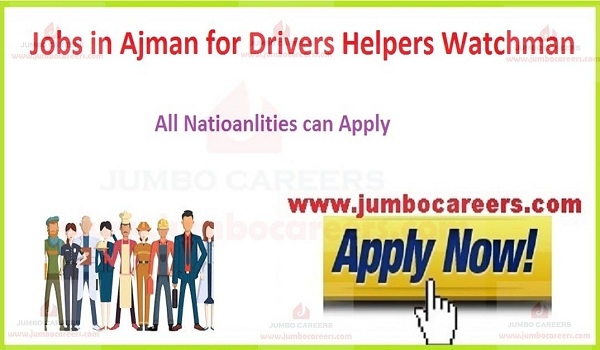 Available jobs in Ajman,