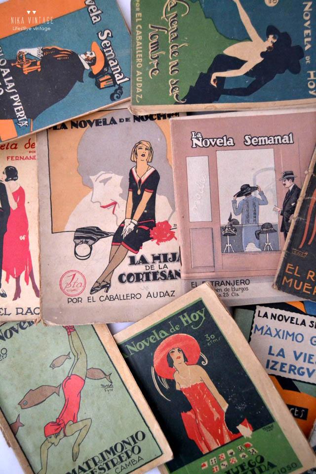 colección la novela de hoy, portadas, principios del siglo xx, novelas, artemio precioso, Valle Inclan, diseño