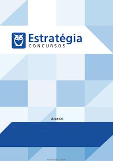 Apostila para Tribunais de Contas portugues para Tecnico