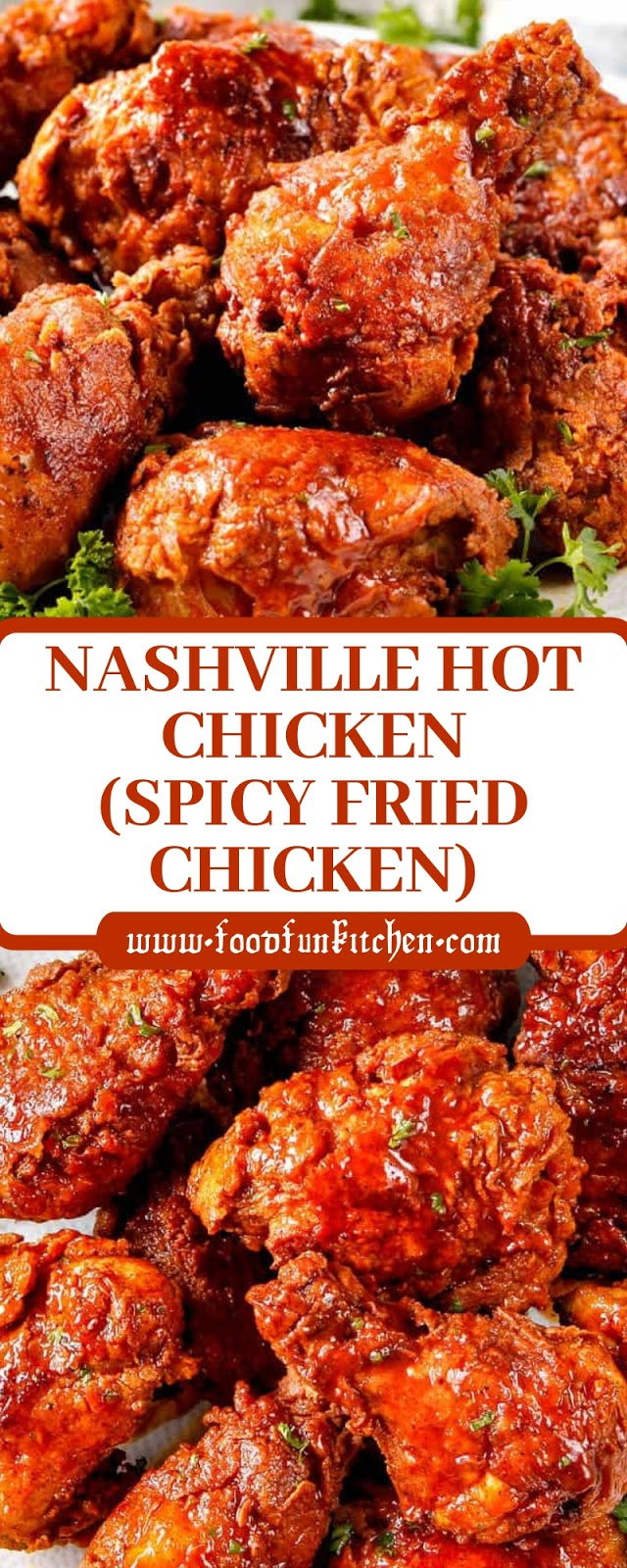 NASHVILLE HOT CHICKEN (SPICY FRIED CHICKEN)