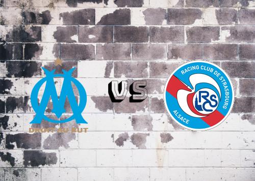 Olympique Marseille vs Strasbourg  Resumen