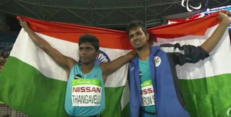 Mr.Mariyappan Thangavelu and Mr.Bhati Varun Singh