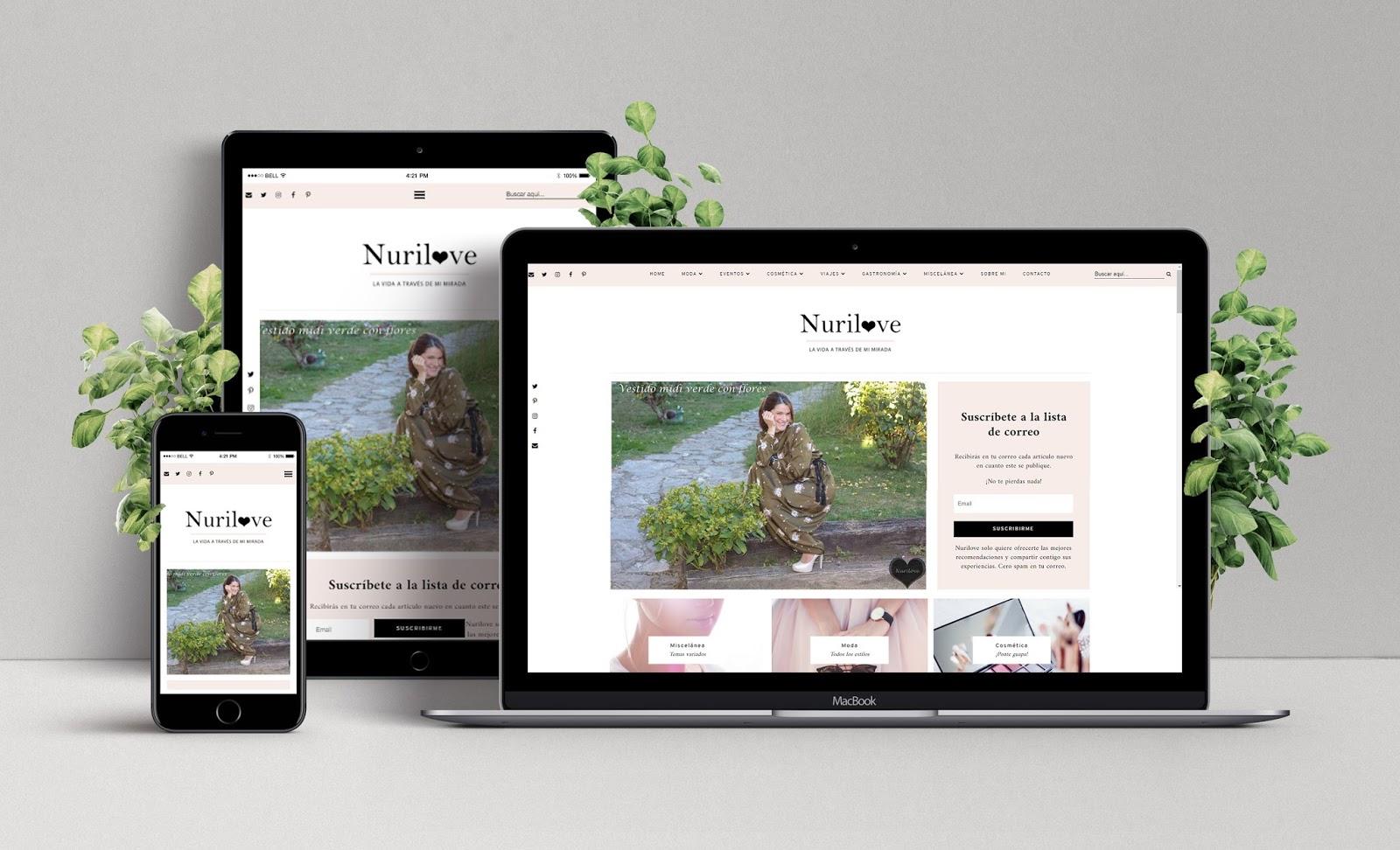 Diseño Web de Nurilove