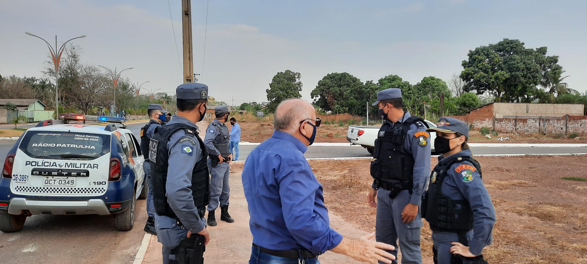 Comandante do CR2 realizou visita técnica em Nobres