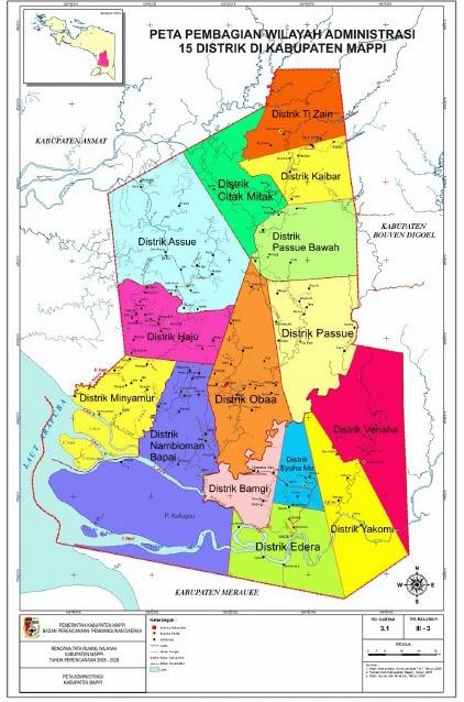 peta papua: Peta Mappi