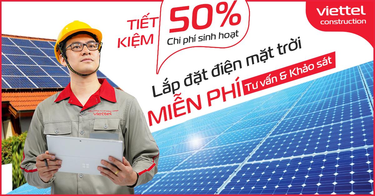 Điện mặt trời Viettel