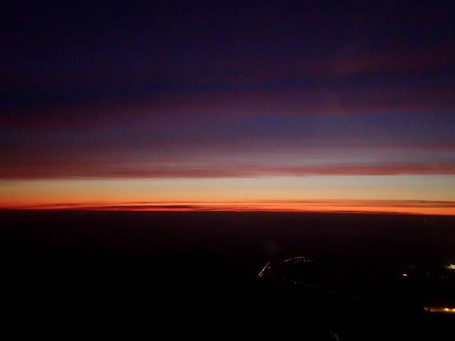 Wschodzące słońce nad Śląskiem