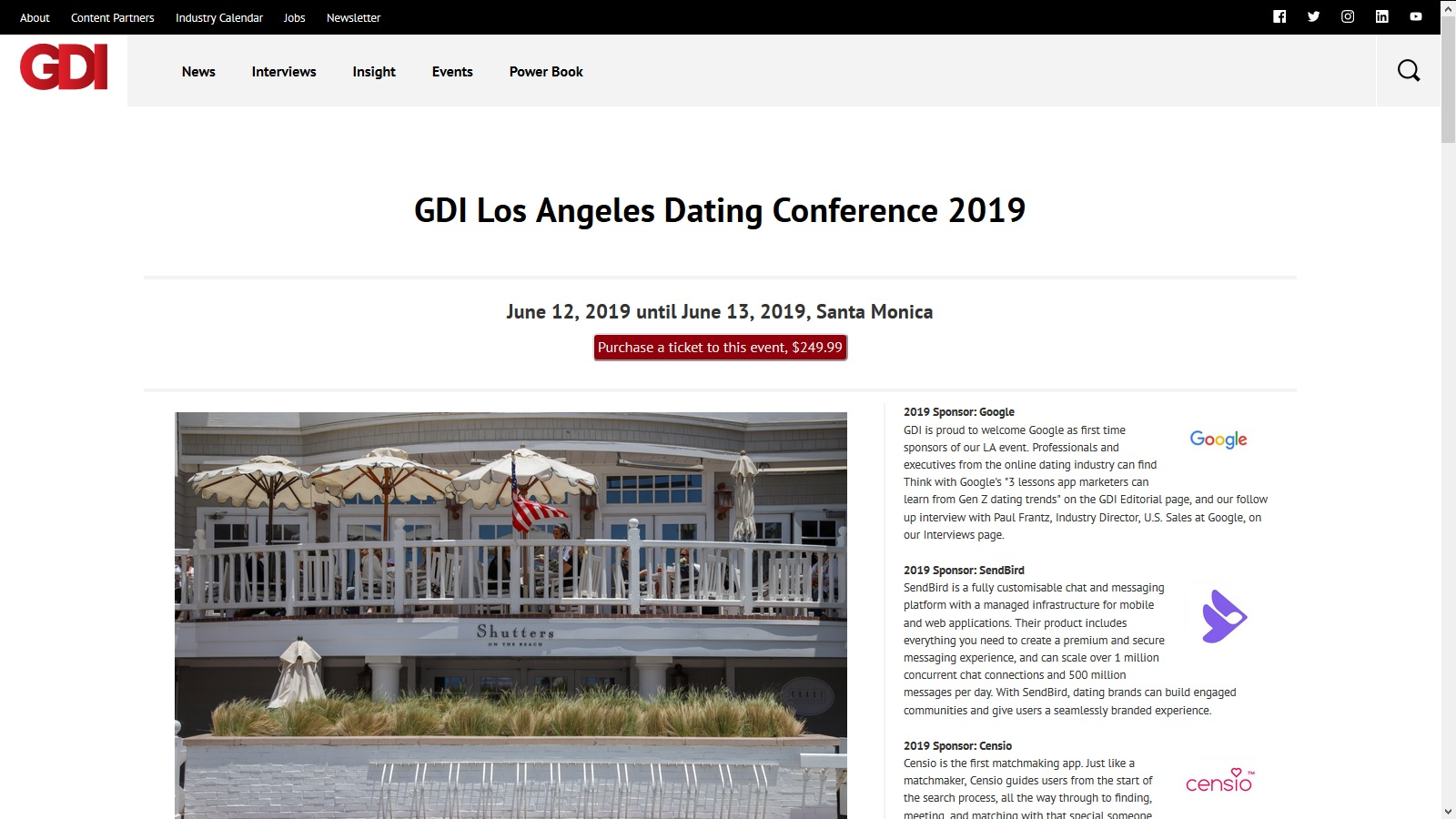 Dating services in la