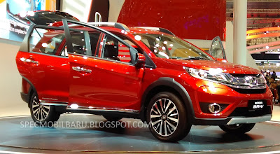 Honda BR-V released at GIIAS 2015, Indonesia