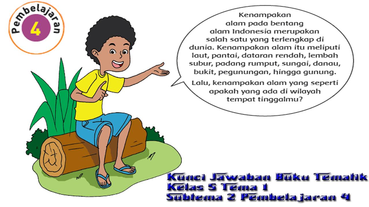 Kunci Jawaban Tema 1 Kelas 5 Uji Kompetensi