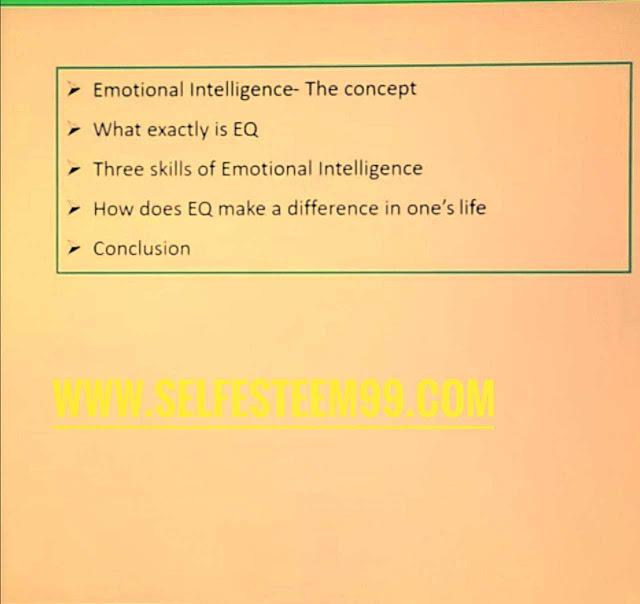 Emotional intelligence introduction