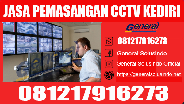 Jasa Pemasangan CCTV Puncu Kediri Murah