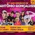 Confira as atrações do 57º Aniversário de Antônio Gonçalves