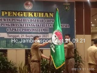 Sah Dodi Hariyanto Parmin. SH Pimpin DPD APKI Provinsi Jambi Periode 2021-2024.