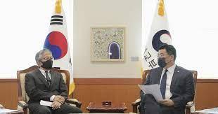Japan's No. 2 diplomat in S. Korea ordered home for improper remark