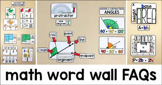 math word wall frequently asked questions