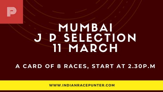 Mumbai Jackpot Selections 11 March