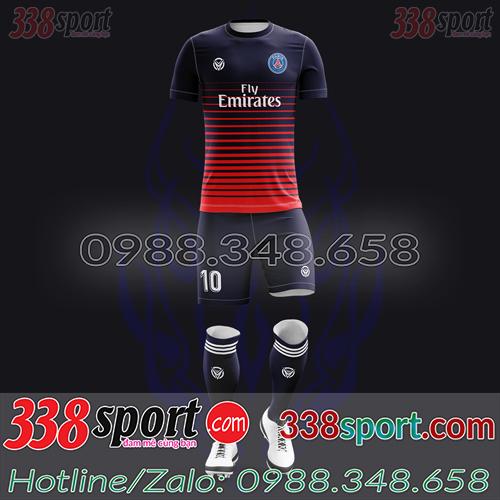 Áo PSG Đặt May Theo Yêu Cầu - Mã PSG 01