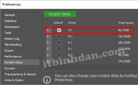 Photoshop Scratch Disk