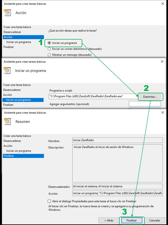 Reproducir ZaraRadio Automáticamente al encender el PC ...