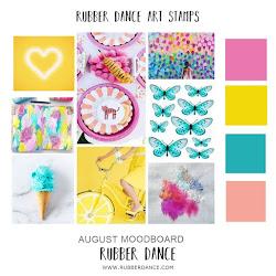 Rubber Dance August Moodboard