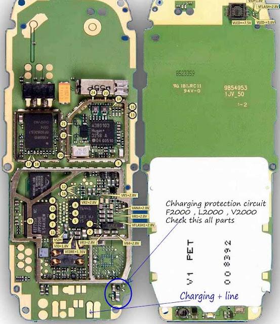 Circuit Diagram Nokia Charger