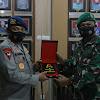 Danrem Tadulako Brigjen TNI Farid Makruf, M.A Terima Kunjungan Kapolda Sulteng Baru