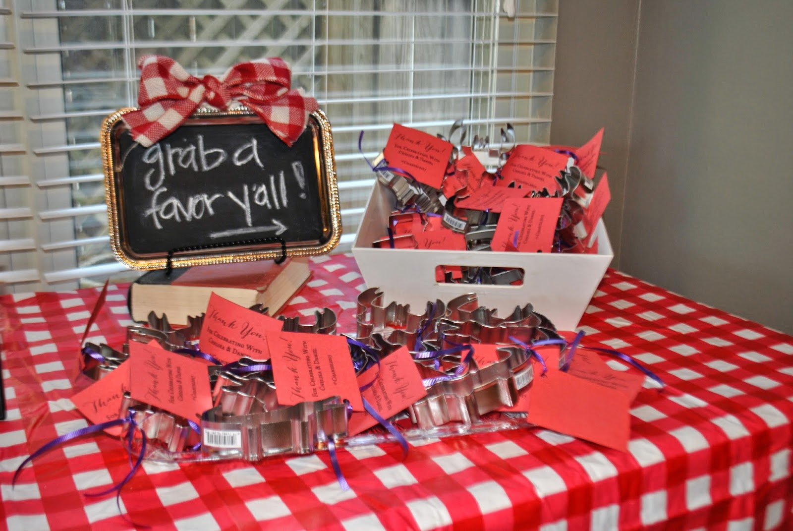 In Style Party Favors: Southern Charmer