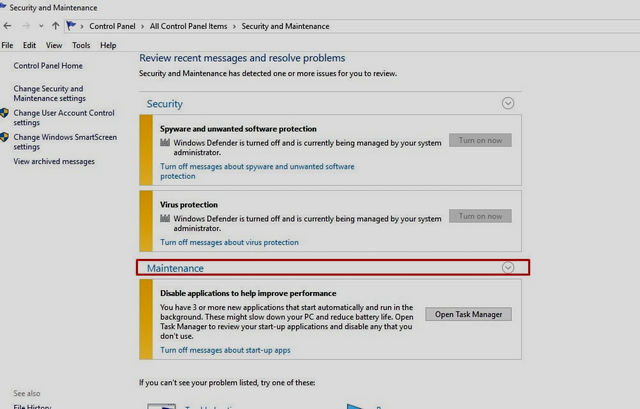 كيفية تعطيل رسائل الإبلاغ عن الأخطاء في ويندوز 10