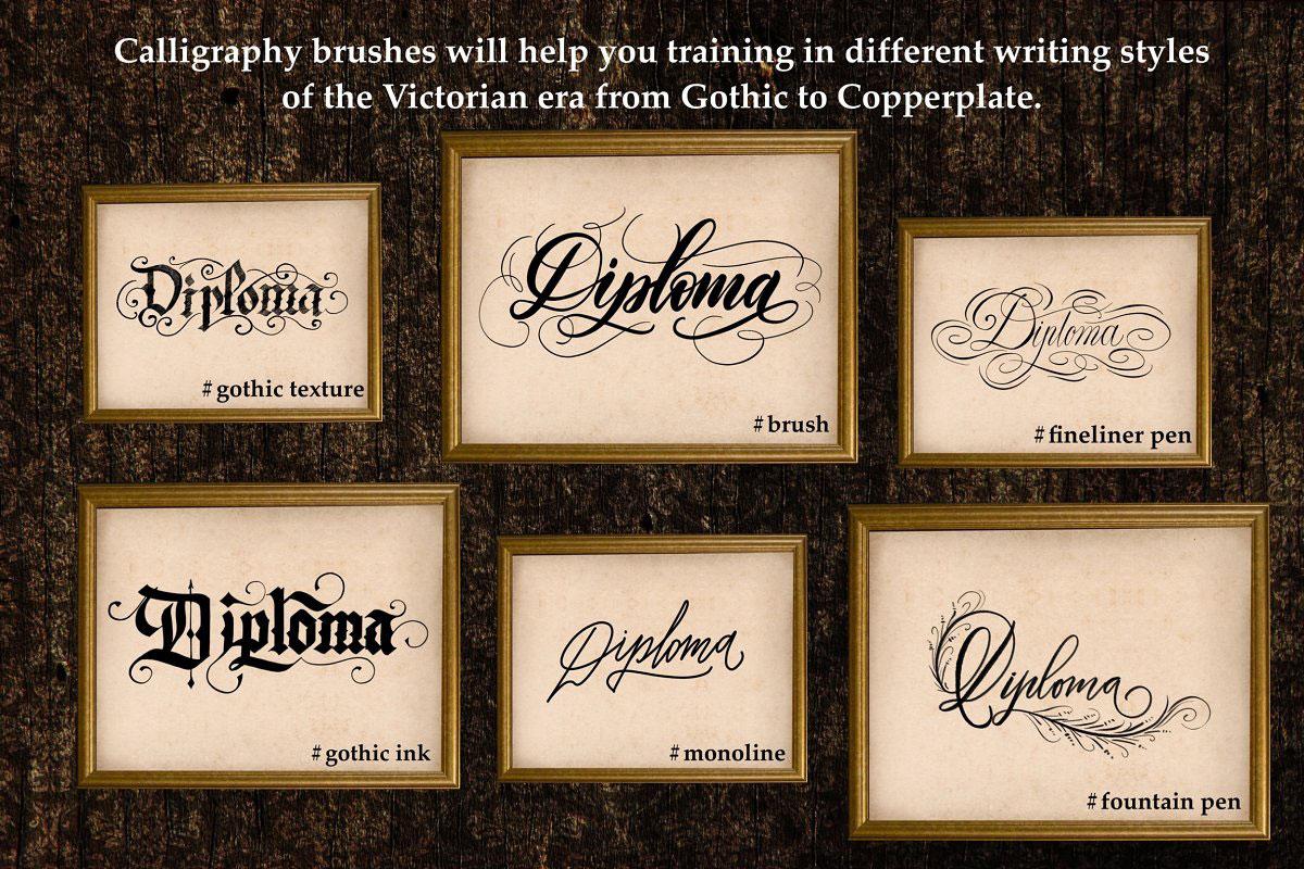 Victorian Lettering Creator Kit 4788869.