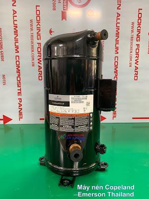 ZR190 1 - 0916868022 // Máy nén lạnh công nghiệp Copeland Emerson ZR190KC-TFD-550 giá tốt