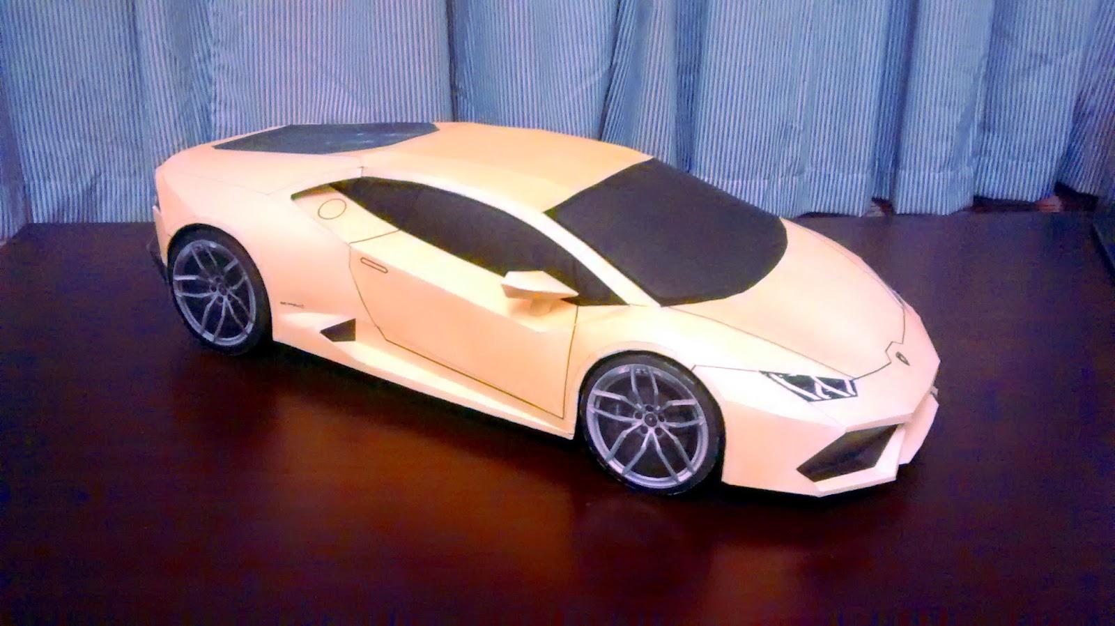 Yoshiny S Design Lamborghini Huracan Papercraft