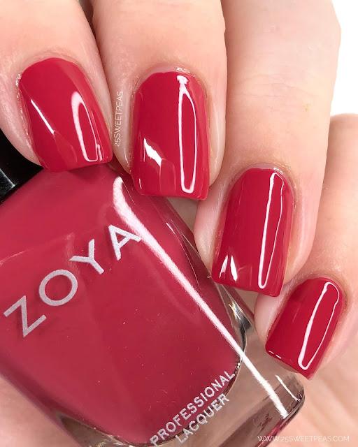 Zoya Liza Swatch 25 Sweetpeas