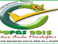 Panduan Mengisi e-PUPNS 2015