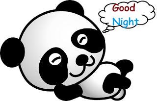 good night cute animal images