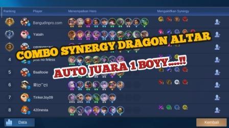 Combo synergy dragon altar tersakit