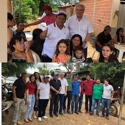 EMPRESÁRIO TANGARÁ PARTICIPA DA ENTREGA DE UM CAMINHÃO PIPA PARA A ASSOCIAÇÃO DOS MORADORES DO POVOADO JATOBÁ DOS NOLÊTOS