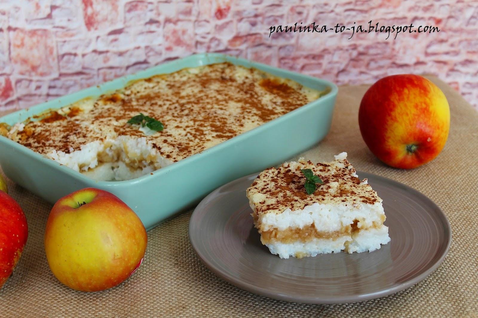 Smak Mojej Kuchni Ryż Zapiekany Z Jabłkami I Cynamonem