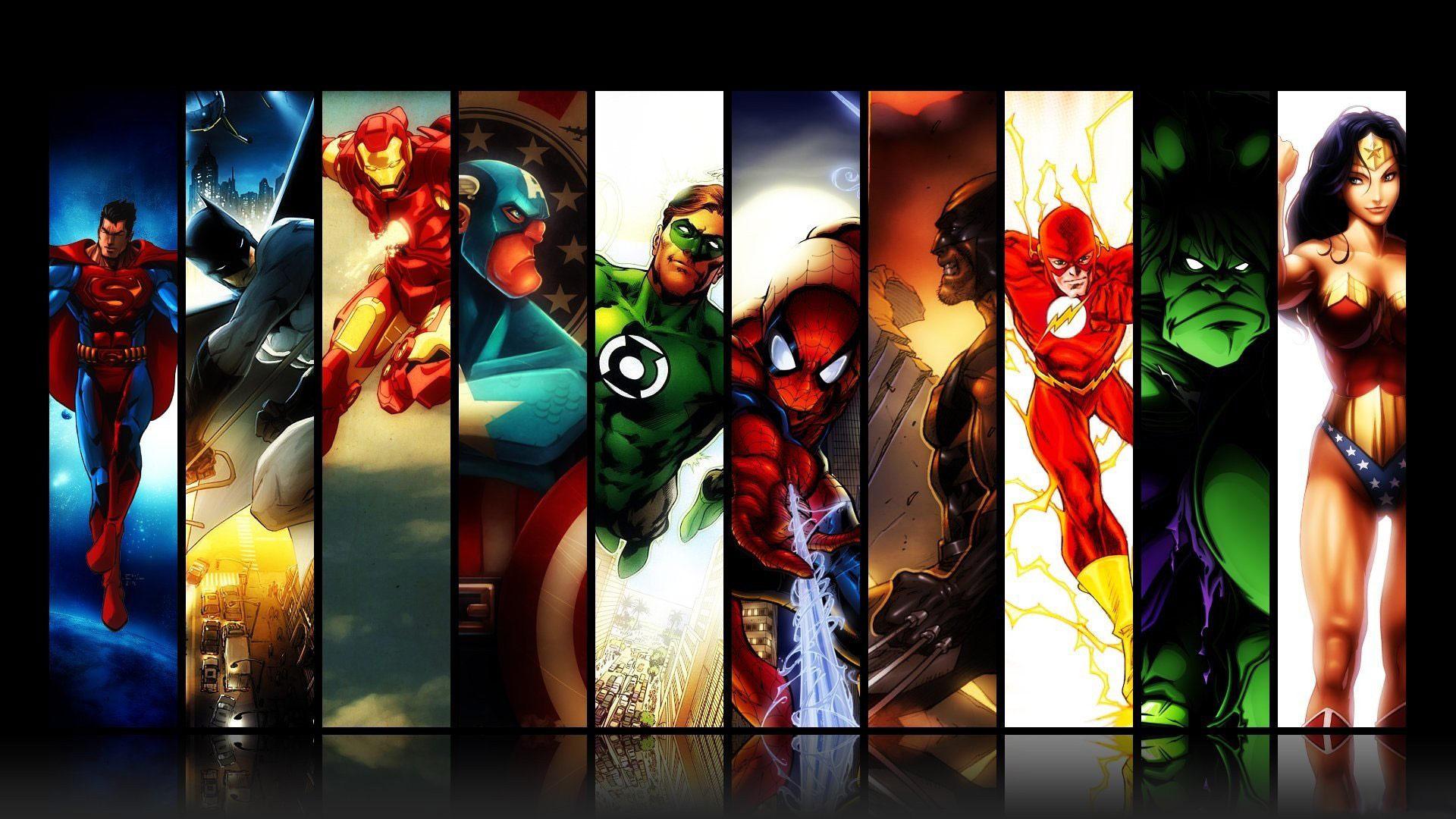 Papel de Parede Heróis da Marvel - Papel de Parede Grátis para PC HD